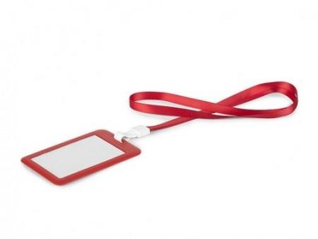 Slika ID drzac za lekare i zdravstvene radnike u crvenoj boji kolicina,50 komada