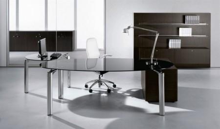 Slika Diamond Glass office desk , radni sto