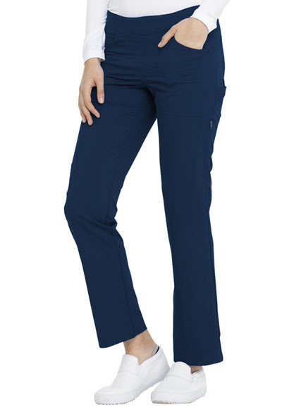 Slika Dickies Balance Mid Rise Straight Leg Pull-on Pant in Navy