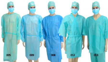 Slika Jednokratni hirurski mantili sterilen