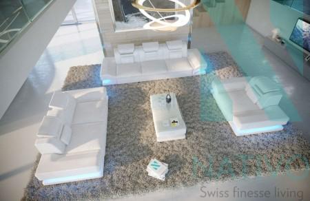 Slika Space Garnitura za cekaonicu sa LED osvetljenjem USB prikljucak