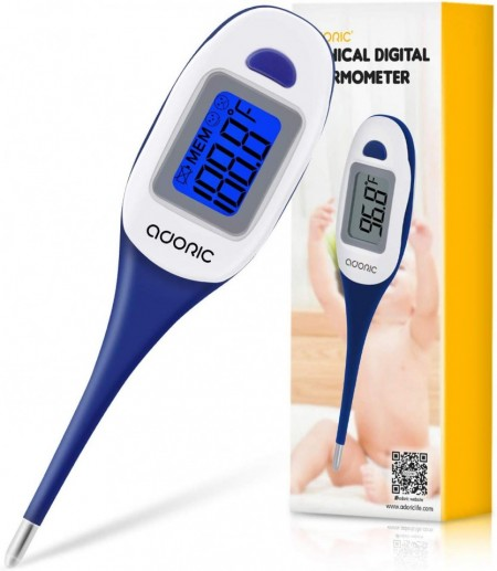 Slika Adoric Digital Medical Thermometer - Rectal and Oral Thermometer