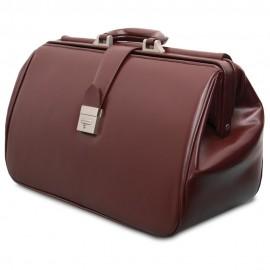 Slika Doktorska torba od koze Comfort L11,crna i braon