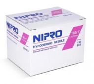 "Nipro Flomax Hypodermic Needles 18G x 1"" -"