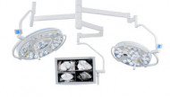 DR. Mach LED 3 and LED 3 OT-lights with camera and monitor