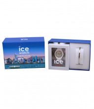 Japan Ice-Watch - ICE Glam White - Women's Wristwatch with Silicon