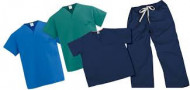 Navy-scrubs medicinske uniforme