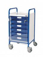 Vista 50 Clinical Trolley - 6 Single Trays