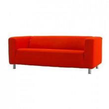Fensi cekaonica, sofa cover 2-local - Granon red
