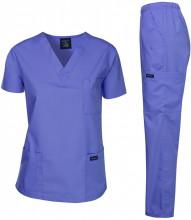 Medicinski komplet Zenska uniforma,Dagacci Medical Uniform Women Medical Scrub Set Top