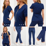 Razliciti od Drugih.Jaanuu - scrub set!!! XS in estate navy color