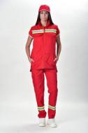 Zenska uniforma za hitnu pomoc i urgentnu mrdicinu reflektujuca bluza i pantalone