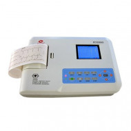 3 Channel ECG Machine, Digital, ECG300G