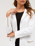 Jaanuu L.A. USA-The Signature Lab Coat in White - Lab Coats by Jaanuu-Drukciji od drugih