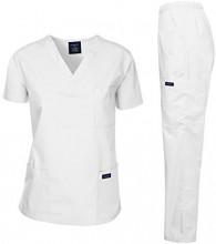 Mediicinska uniforma bela LM1