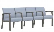 Primacare™ HT-Medicinske stolice za cekaonicu cetri sedista
