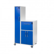 WL-14MN Dominica Bedside Cabinet with Wardrobe Unit