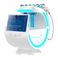 Aparat za negu lica-High quality Ice Blue Ultrasonic RF Aqua Skin Scrubber Anti-wrinkle HydraOxygen