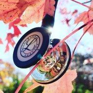Novo littmann 3 Mirror stetoskop sa zvonom u boji stakla