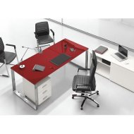 Riimini glass desk,radni sto za ordinaciju