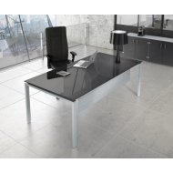 Silver1 office desk radni sto
