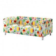 sofa cover 2-local - Glottra multicolored, multicolored Glottra