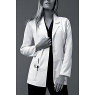 Unisex Medicinski beli mantil