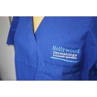Izrada printinga zdravstvene ustanove na uniformi