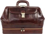 Leather Doctor Bag,Time Resistance,Doktorska torbaaod savrsene koze