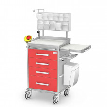 Multi-function cart ANS anesthesia medicationf or instruments