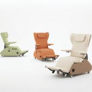 Okamura Ipsia EX - medical carts, Okamura Japan, Stolica za terapiju