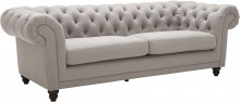 """Sofa Couch, 92.9""""W, Warm Grey"""