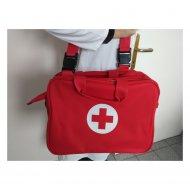 WL11-Terenska torba za lekare u crvenoj boji