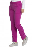 Dickies Balance Mid Rise Straight Leg Pull-on Pant in Violet Charm