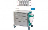 Kolica za Anesteziju Hospital Medication Trolley Cart | Persomed PCM4