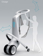 Proizvod-MediRobot To Lift And Transport In-Hospital Patients- Zemlja proizvodnje Kina