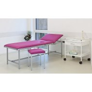 Purple Med. Medicinski krevet za pregled sa stolicom