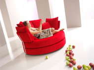 Sofa jabuka, MYAPPLE Sofa in Red by Fama Living from Spain