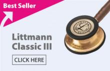 3M Littmann Classic III Monitoring Stethoscope All BlackIDW3285AB