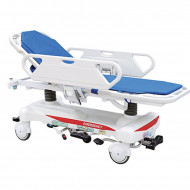 Hydralic patient transfer trolley