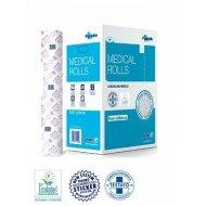 Medical Rolls Papirni prekrivac za krevet, pakovanje 6 rolni, duzina rolne 80 m