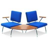NI-P11 Zakrivljene stolice za cekaonicu