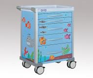 Pedijatrijska kolica Luxe LX3405PROS Plava