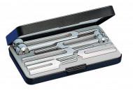 Riester Tuning fork set III (No. 5162, No. 5165, No. 5167, No. 5169, No. 5171) in plastic case