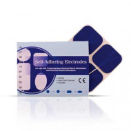 Elektrode za Tens i Ems -visekratna upotreba,Blue Cloth Electrodes Aggressive Gel by Roscoe Medical