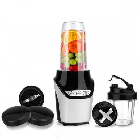 Blender 2 in 1 Nutrition Extractor, Hausberg HB-7705, putere 1000W