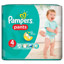 PAMPERS nr.4 Active Pants Baby 9-14Kg, 24buc