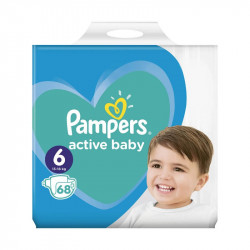 Pampers Nr. 6 Active Baby 13-18 kg Scutece, 68 bucati
