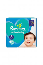 Scutece Pampers Active Baby Nr 3, 29 buc