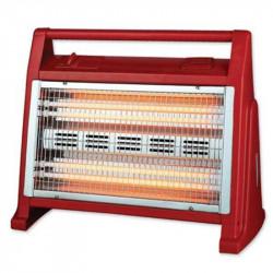 Radiator cu Quartz, 1600 W, 4 Tuburi, 2 Trepte de Temperatură, Ventilator